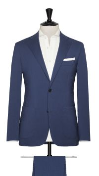 Blue Rain System Plain Suit