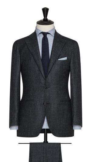Green and Blue Houndstooth Suit