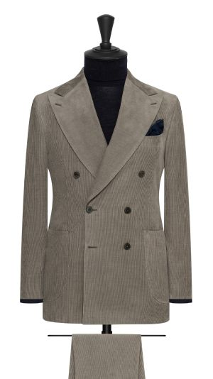 Grey Corduroy Suit
