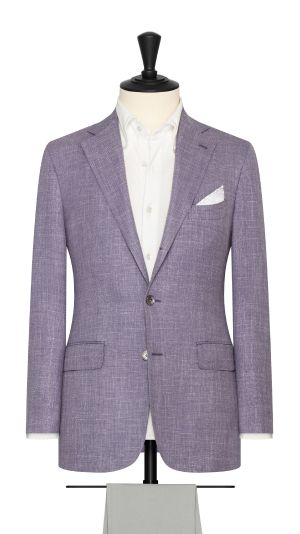 Lavender Basketweave Jacket