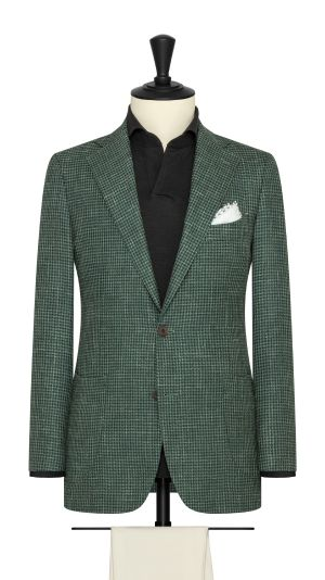 Green Houndstooth Jacket