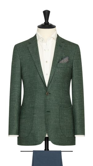 Green Melange Jacket
