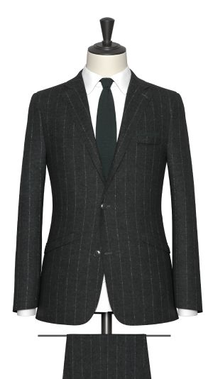 Green Pinstripe Suit