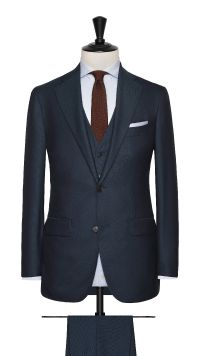Green Wool Twill Suit