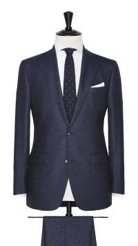 Blue Super 120's Suit