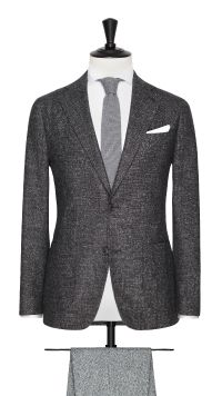 Grey Wool and Cotton Jacket