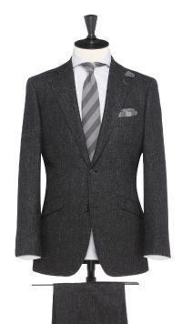 Grey Wool and Linen Suit