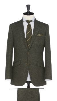 Green Wool Suit