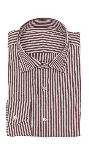 Purple White Stripe Shirt