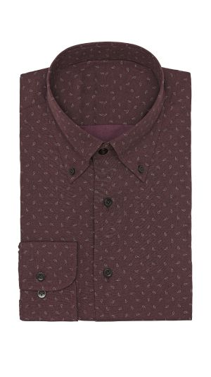 Purple Paisley Shirt