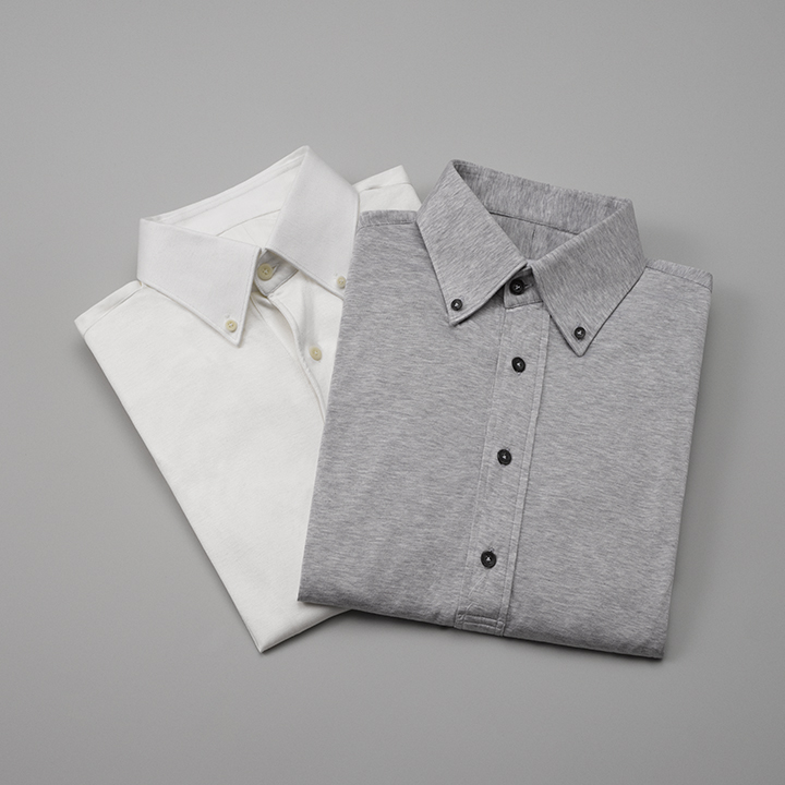 knitted shirts by clements and church