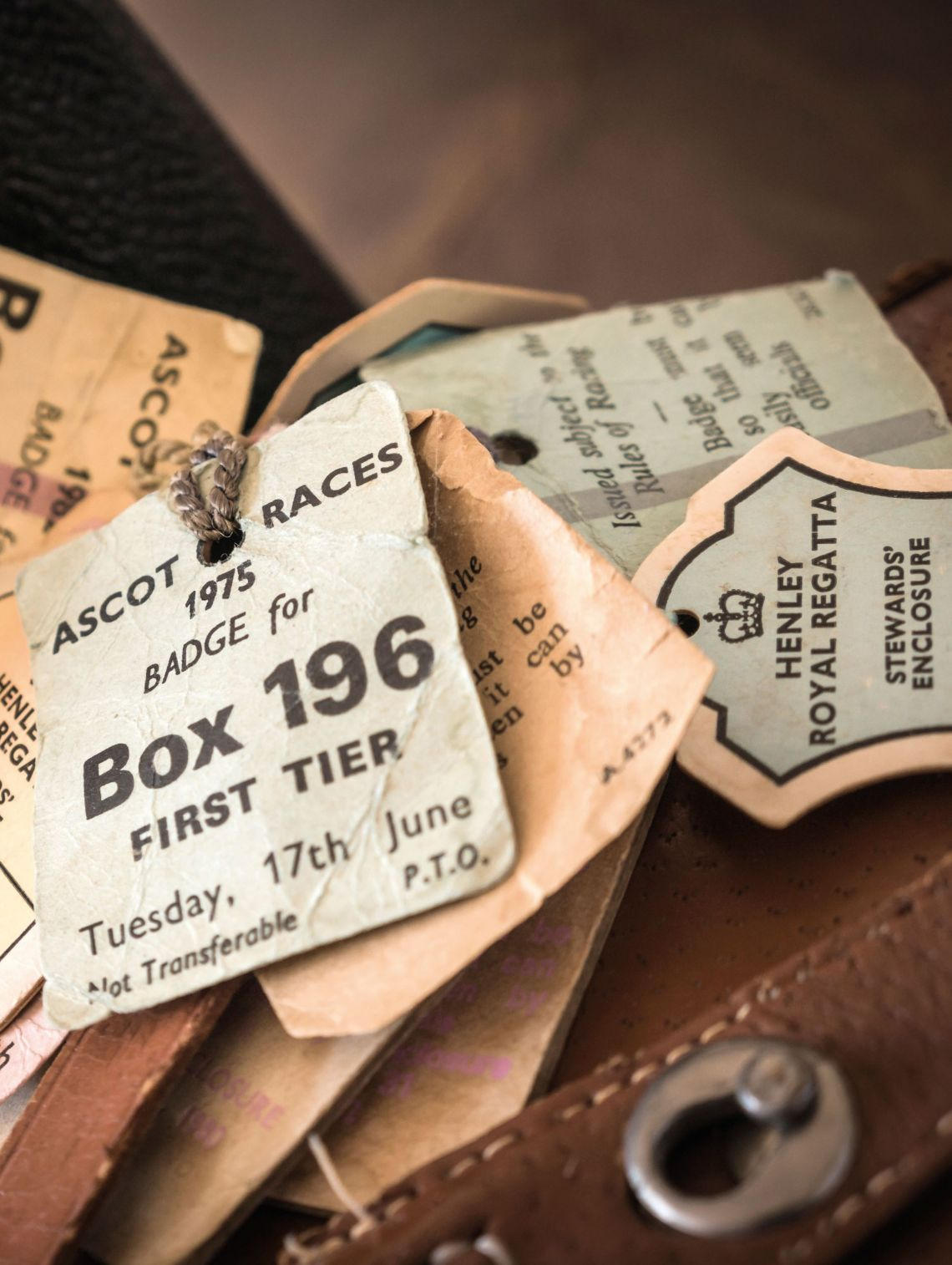 Race tickets