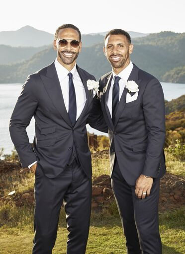 Rio and Anton Ferdinand in Clements and Church