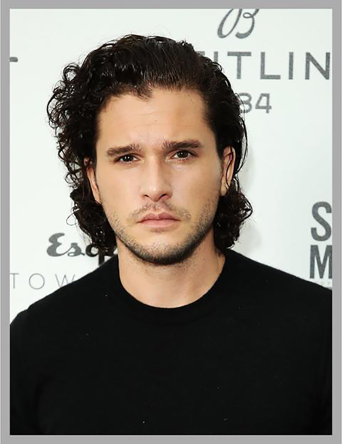 Kit harrington hair
