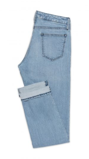 Light Blue Washed Jeans