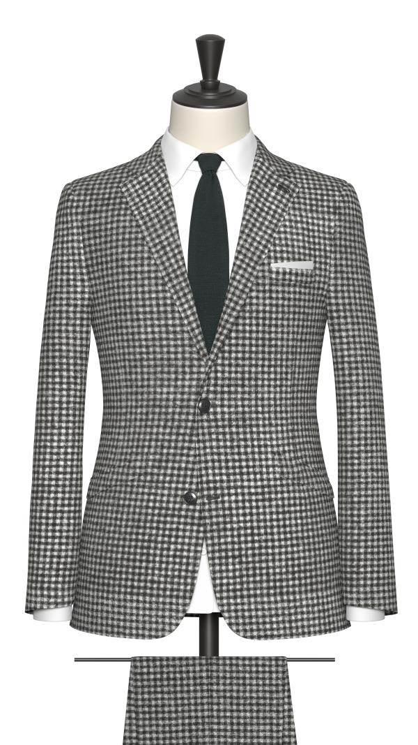 Black Check Suit
