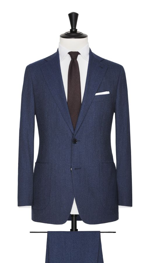 Blue Super 110's Suit
