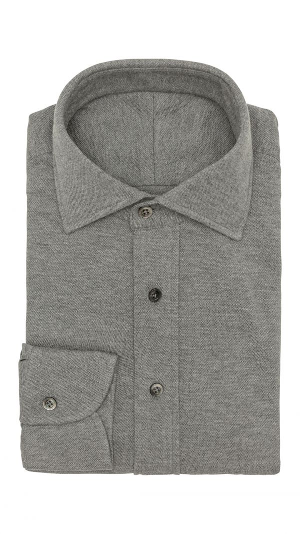 Grey Plain Shirt