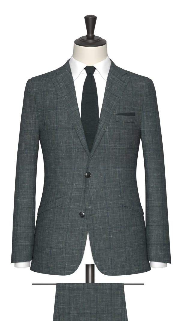 Green Check Suit