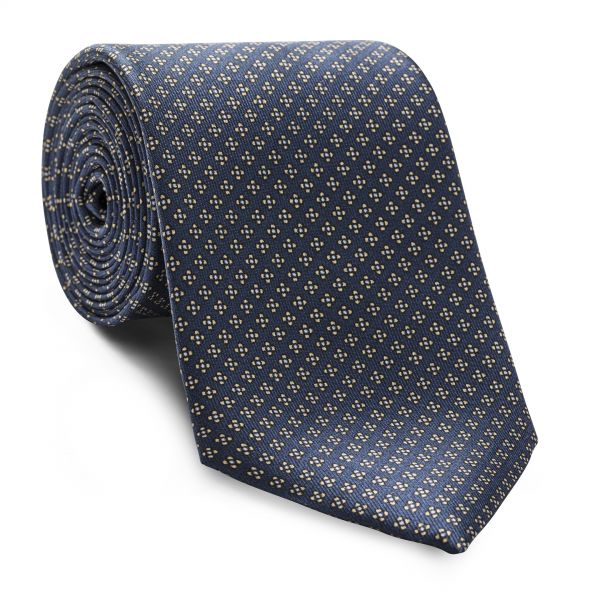 Blue and Yellow Floral Tie