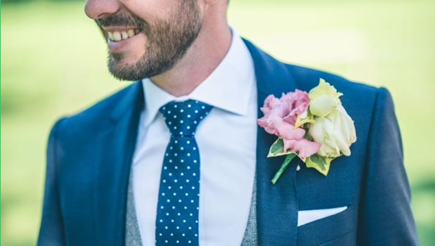 Tailored shirts and suits for weddings